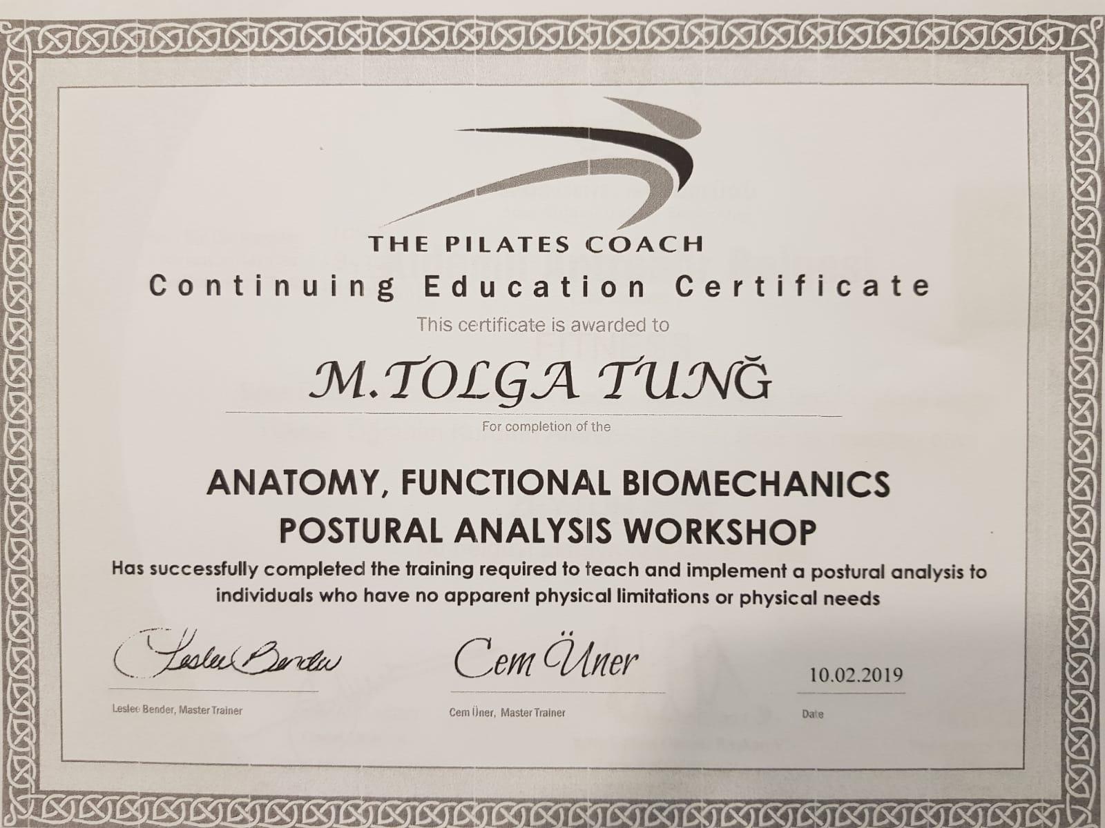 pilates eğitmeni sertifikası