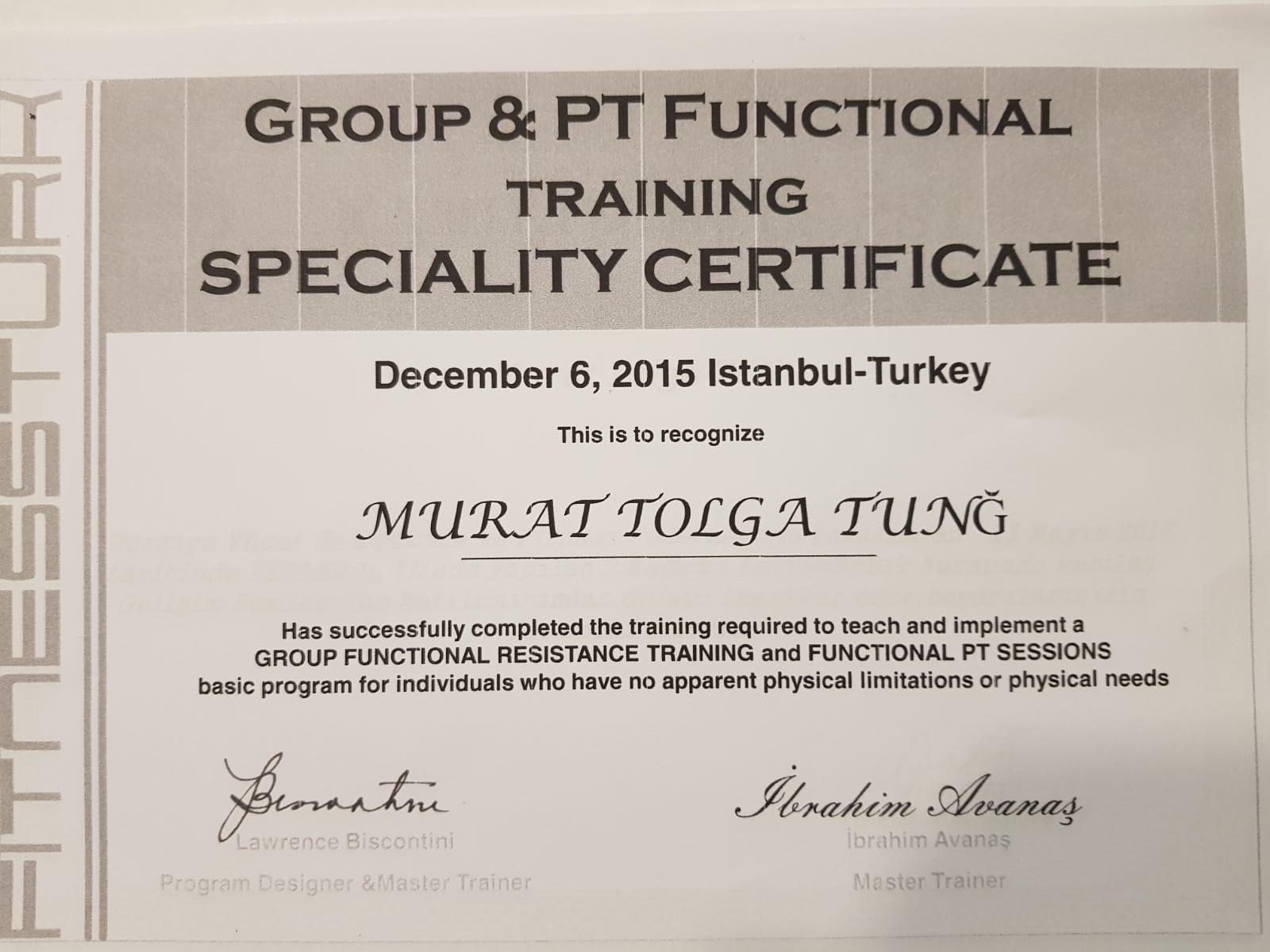 spor salonu eğitmen sertifikası